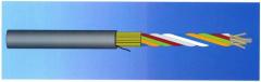 Single Jacket, Loose Tube Fiber Optic Cable