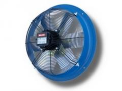 Axial fans with six aluminium blades