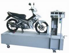 Dynamometer chassis for measurement of  speed