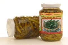Pickled Whole Green Chilli