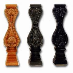 Ceramic Baluster ( Rose Pattern )