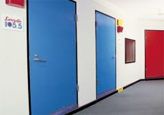 Acoustic Sound-Lock Doors