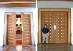 Fire-Acoustic Wood Doors