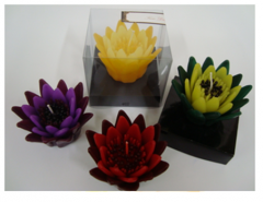 Candle Lotus floating flower