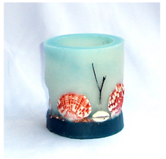 Aromatic Shell Lantern Candle