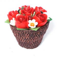 Flower Candle Set 1