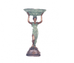 Lady Holding Bowl Fountain