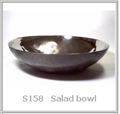 Handmade Stainless Salad bowl