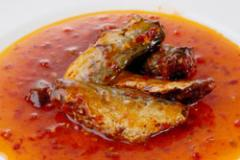 Fried Mackerel with Chilli