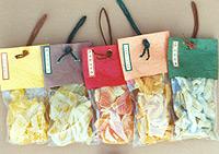 Preserved Fruit in plastic sachet