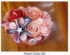 Peach Ocean Set