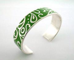 Arabic Graphic bangle
