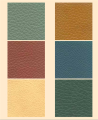 Furniture upholstery leathers