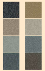 Car upholstery leathers