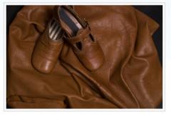 Soft cationic, nappa leather