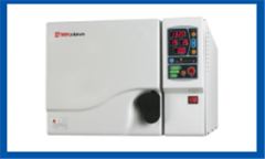 Steam autoclave sterilization with steam pressure