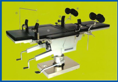 Surgical bed.