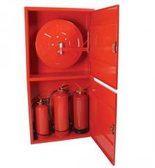 Double Fire Cabinet