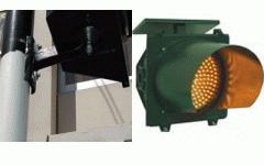 Traffic light solar