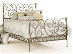 MB001 Wrought Iron Bed 6'