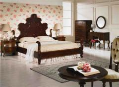 WB006 Queen Ann Bed