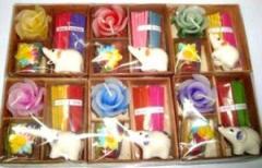 Designer handmade candles
