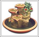 Terra cotta table Fountain