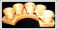 Pots with Tray