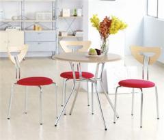 Abaca Table & Poznan Chair