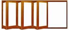 Bifold Folding Wood Doors and Windows