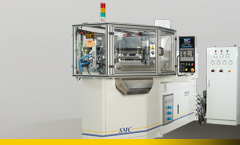 Horizontally set-up SMC Injection Blow moulding