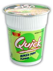 Quick Formula Noodles Minced Pork Flavour