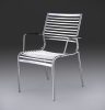 Bando Armrest Chair Stainless