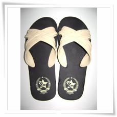 Women's slippers S-444 Cream