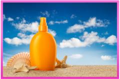 Sun protection SPF 40 (Silky base)