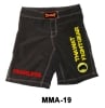 Mma Fight Short Polyester Black