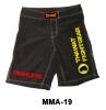 Mma Fight Short Polyester Black