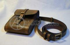 Leather Small-Hangbag