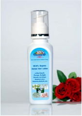 99.8% organic and Herbal. Hair Lotion furnished