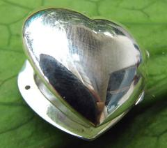 Open Heart Locket pendant