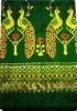 Peacock mudmee silk fabrics