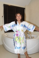 Thai Silk Bathrobe National