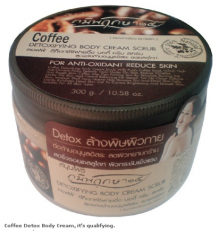 Coffee Detox Body Cream