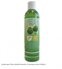 Landscape, flora herbal formula 15 shampoo lime