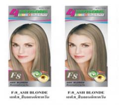 Starlist 4seaason hair color cream F8 Ash blonde