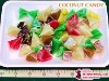 Multi-Colored Coconut Candy