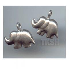 Thai Karen Silver Elephant Charm