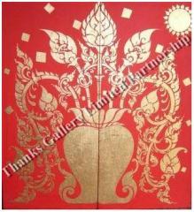 Etnik Thai Art Oil Painting
