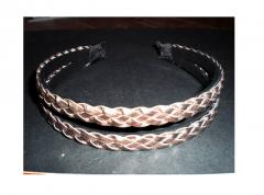 Pvc Leather Headband