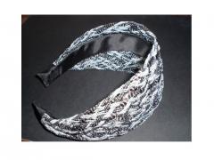 Multicolor Sparkling Mesh Headband